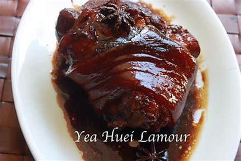 comment cuisiner un patisson blanc recette de jarret de porc laqu 233 e