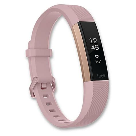 fitbit bed bath beyond fitbit 174 alta hr wristband special edition in lavender rose gold bed bath beyond