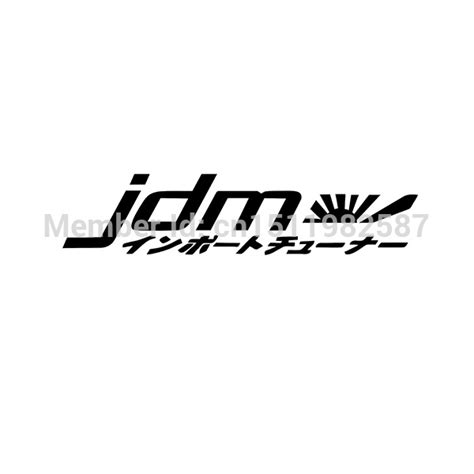 Sticker Frontglass Invisible racing jdm japan kanji front car styling vinyl decal car stickers for auto suv glass window