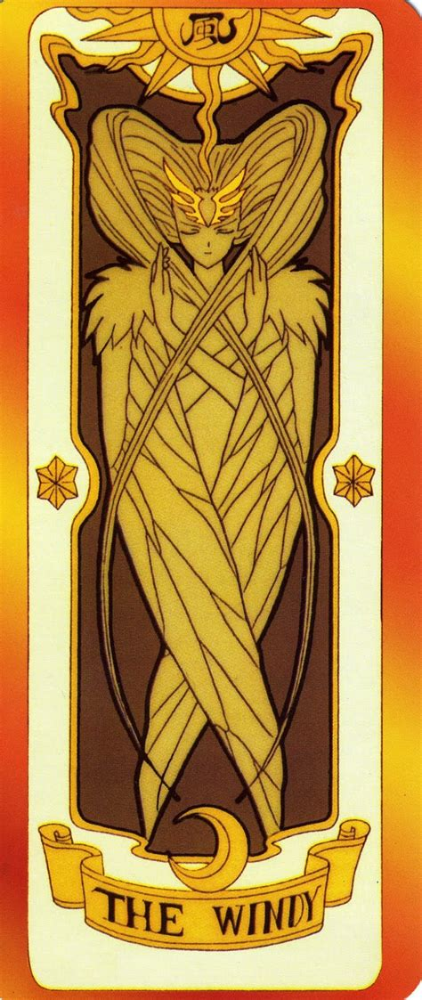 Clow Cards The Windy Template by As You Wish Card Captor
