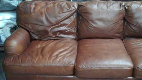 Aniline Leather Sofa Chair Ottoman Repair Aniline Leather Sofa Care