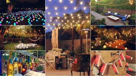 lighting ideas for backyard party 10 diy outdoor party lighting ideas diy smartly