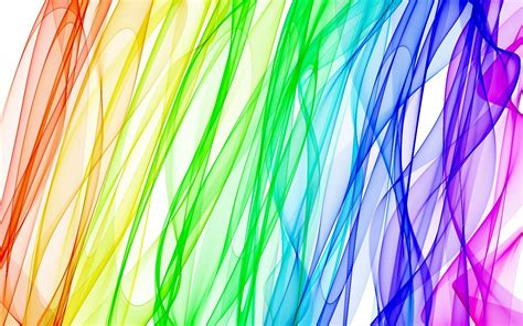 Rainbow Light Smoke 1680x1050 Wide Image Abstract 3d Rainbow Lights