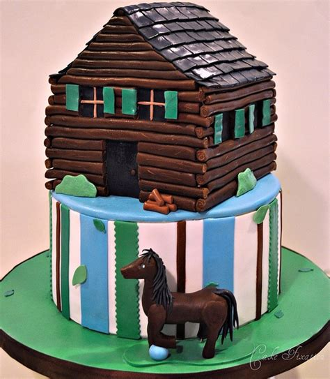 Log Cabin Cakes by 17 Best Images About Retirement Cakes On