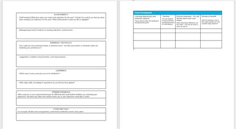 self assessment template enom warb co