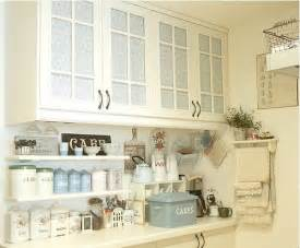 shabby chic kitchen shelves lilac kitchen