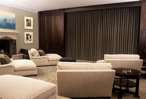 home theater curtain ideas home theatre brocky s tv