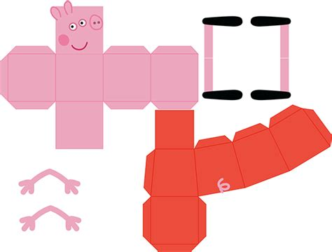 Pig Papercraft - papercraft peppa pig buscar con papercrafts