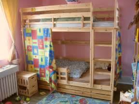 Diy bunk beds for kids