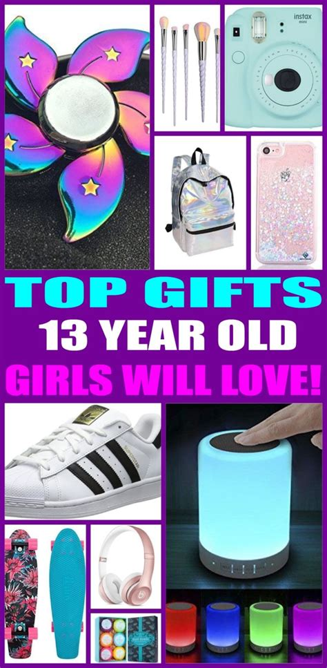 best gifts for 13 year