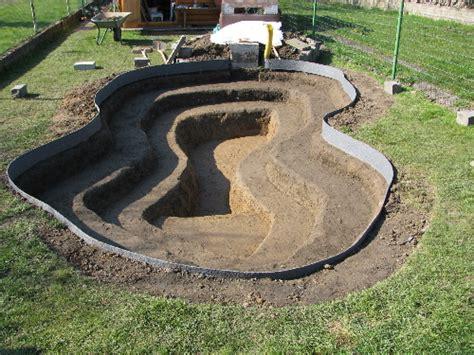 Creuser Un étang creuser un bassin d eau construire un 233 tang id 233 e de