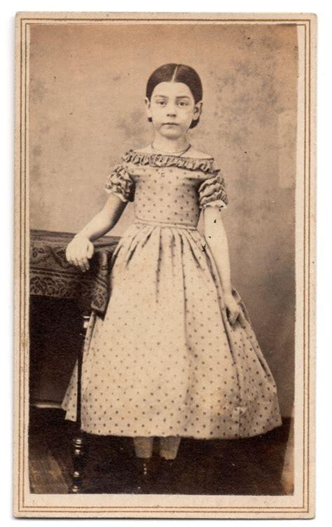 1860s costume accessories civil war era fashions vintage cdv 1860 s civil war era young little girl full beautiful