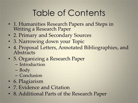 sources for writing a research paper humanities research papers ppt