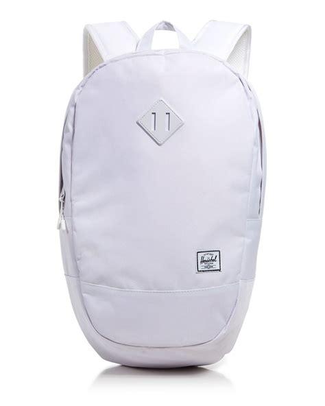 crown slingbag herschel supply co crown sling backpack in white for