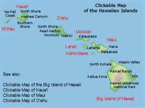 map of hawaii islands map of hawaiian islands travel hawaiian islands