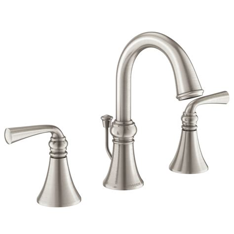 moen bar sink faucet brushed nickel