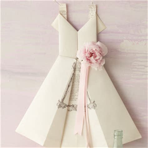 Origami Wedding Dress - 12 and easy origami tutorials clementine creative