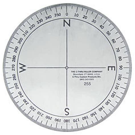 protractor template generator 4 quot full circle protractor w80632