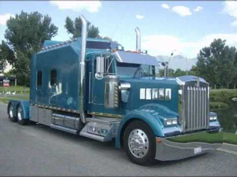 kenworth truck sleepers kenworth w900l custom aero i sleeper custom semi truck