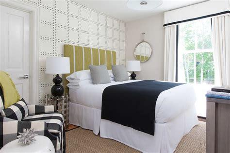 green  black bedroom contemporary bedroom rachel reider interiors