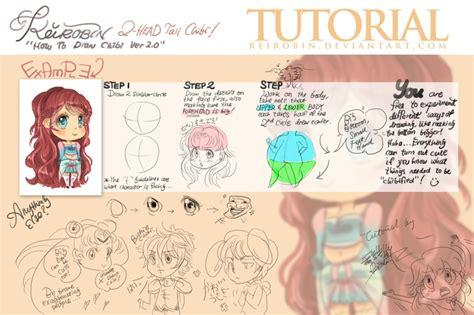 tutorial menggambar chibi anime 171 best images about chibi tutorials on pinterest