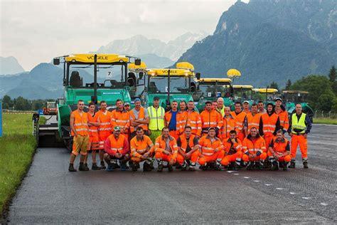 asphaltieren firmen flughafen salzburg rollwege sanierung salzburg