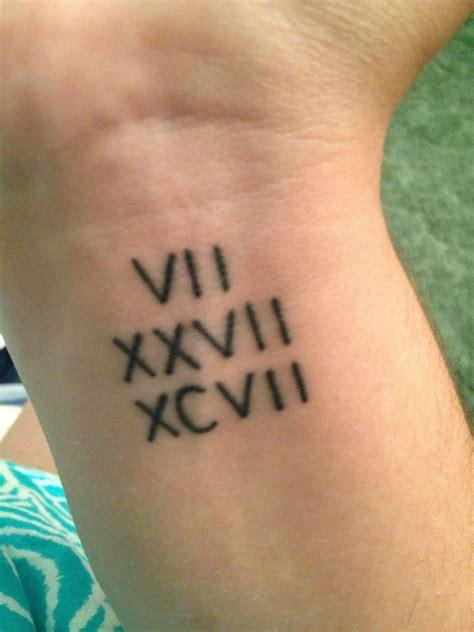 small roman numeral tattoos small tattoos miss