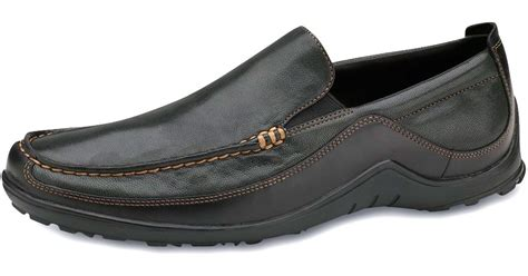 cole haan tucker venetian loafer black cole haan tucker venetian loafer in black for lyst