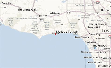 california map malibu malibu location guide