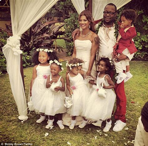 bobby brown wedding day photos missing bobbi kristina