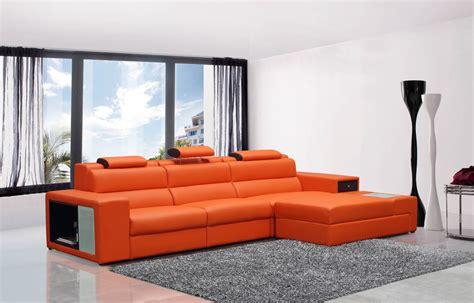 casa linda furniture sofas divani casa polaris mini contemporary bonded leather