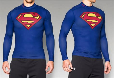 Kaos Sleeve Armour armour alter ego superman coldgear compression shirt
