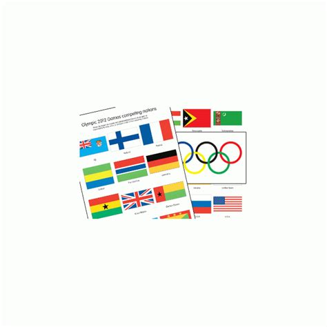 flags of the world early years olympic national flags from early years resources uk