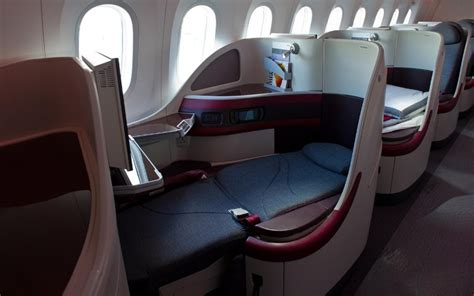qatar airways business class review   video doha life