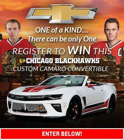 Facebook Camaro Giveaway - blackhawks chevrolet camaro giveaway chevy drives chicago