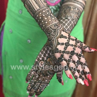 latest arabic mehndi designs henna trends   collection