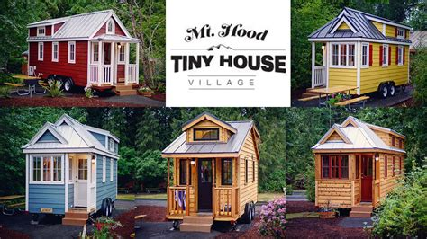 tiny homes in oregon enjoy this little teaser of the mt hood tiny house village