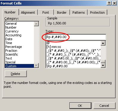format excel rupiah seting format mata uang rupiah rp pada microsoft excel mzn