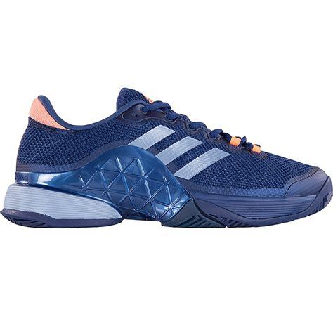 adidas barricade 2017 s tennis shoe blue orange