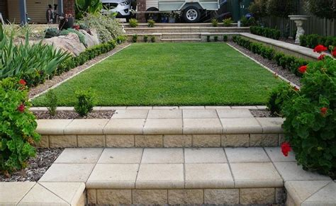 Retaining Wall Ideas For Sloped Backyard Sloping Backyard After