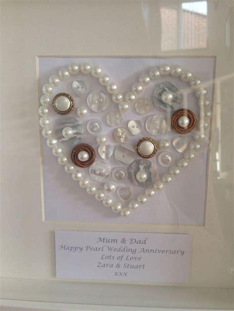 Wedding Anniversary Gifts Handmade by Best 25 Pearl Wedding Anniversary Gifts Ideas On