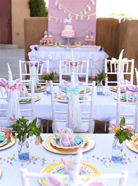unicorn themed birthday party ideas kara s party ideas pastel unicorn themed birthday party