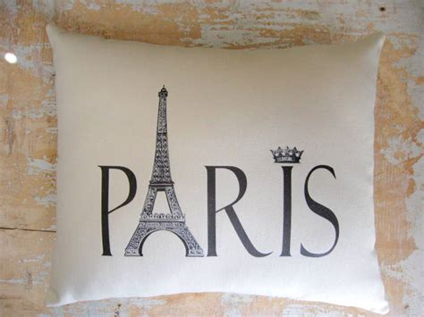 paris decor paris pillow french country home french decor paris