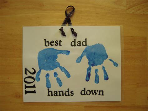 fathers day crafts la la s home daycare s day 2011 he s the best