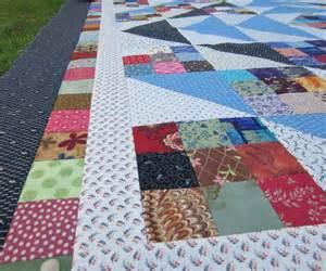 quilts scrappy nine patch quilt