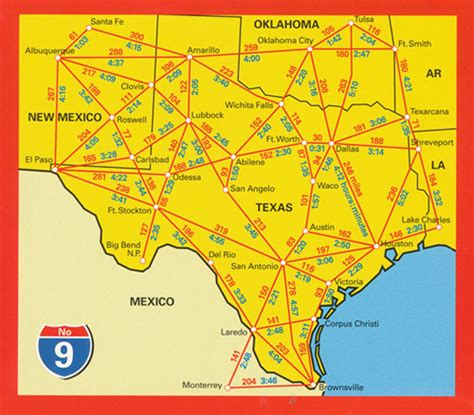 usa texas map usa texas map 9 hallwag maps books travel guides buy