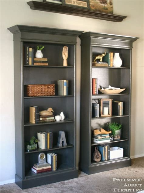 pictures of bookcases how to upgrade bookshelves home inspiration pinterest