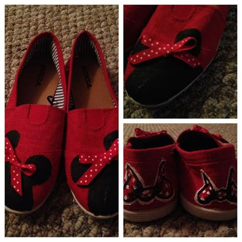 diy disney shoes custom minnie mouse shoes diy disney disney bound
