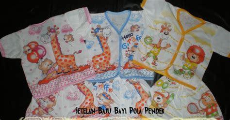 Baju Bayi Panjang Murah Newborn 0 6 Month lusin setelan baju bayi pola panjang perlengkapan baby
