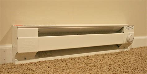 electric baseboard heater and air conditioner baseboard heating baseboard heating to central air